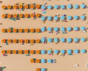 Kuşbakışı plaj görüntüleri 6