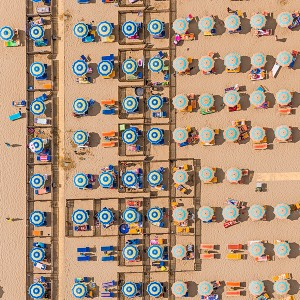 Kuşbakışı plaj görüntüleri 7