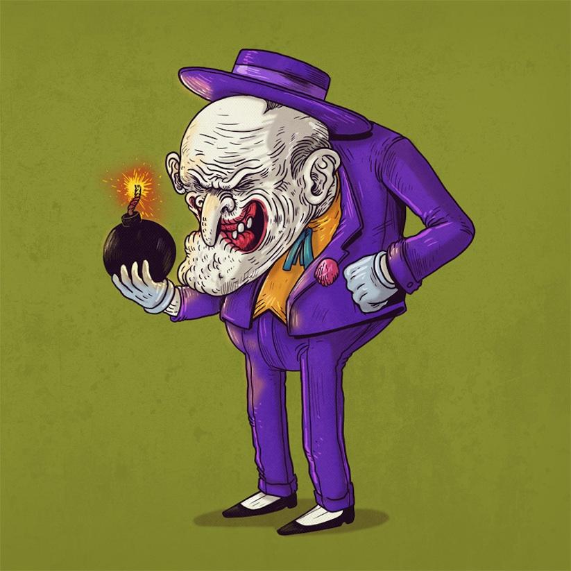 yaşlı joker