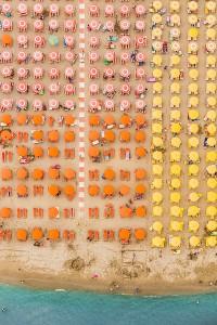 Kuşbakışı plaj görüntüleri 11