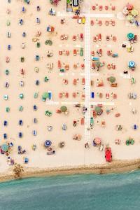 Kuşbakışı plaj görüntüleri